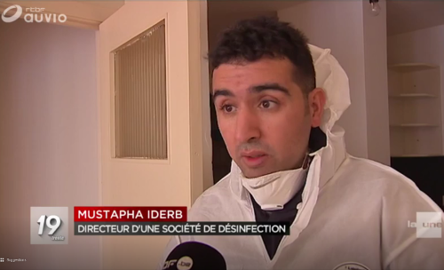 IDERB Mustapha AlloMouss Desinfection